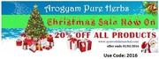Arogyam Pure Herbs Christmas Sale On